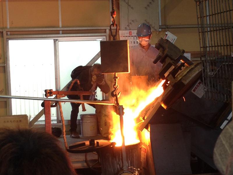 鋳物の製造