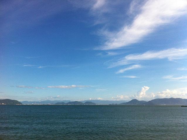 瀬戸内の島々